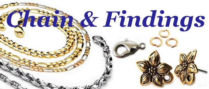 Chain & Findings for Jewellery Making, UK Bead Shop