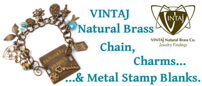 Vintaj Chain, Charms and Metal Stamping Blanks, UK Bead Shop