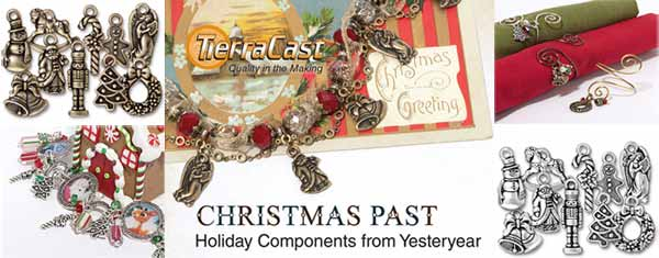 Beautiful Tierracast Christmas Charms Collection