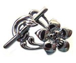 Gunmetal Black Finish Toggles