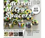 Micro Spacer Beads 2x3mm