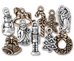 Christmas Past Charms