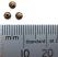 Brass ~ Natural Vintaj 3.5x8mm Smooth Saucer Bead x1