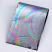 Rainbow Foil Transfer Sheets,4x160mm, x12pc. 4