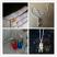Steampunk Glass Vessel 0.5ml Bottle with Cork 18x10mm, Teeniest Fairy Jar 2