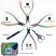 Beadsmith Pliers, Chroma Rainbow Titanium Set in Case UK 3