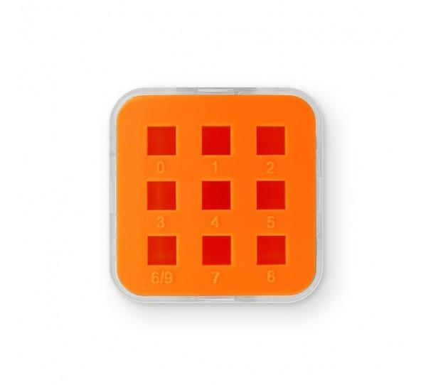 ImpressArt Storage Box Case for 6mm Number Sets - Orange 2
