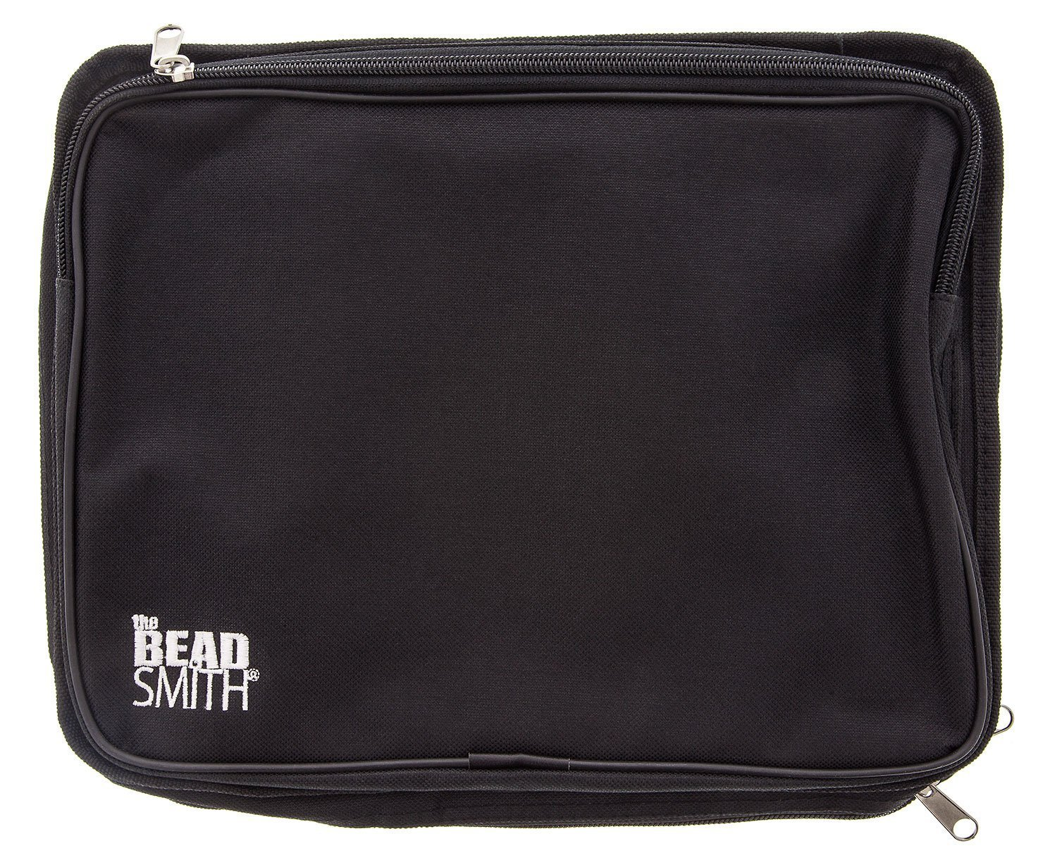BeadSmith Black Crafter's Tote Bag, with 2 Removable Pockets and 23 Compartments 12x10 inch UK Shop b