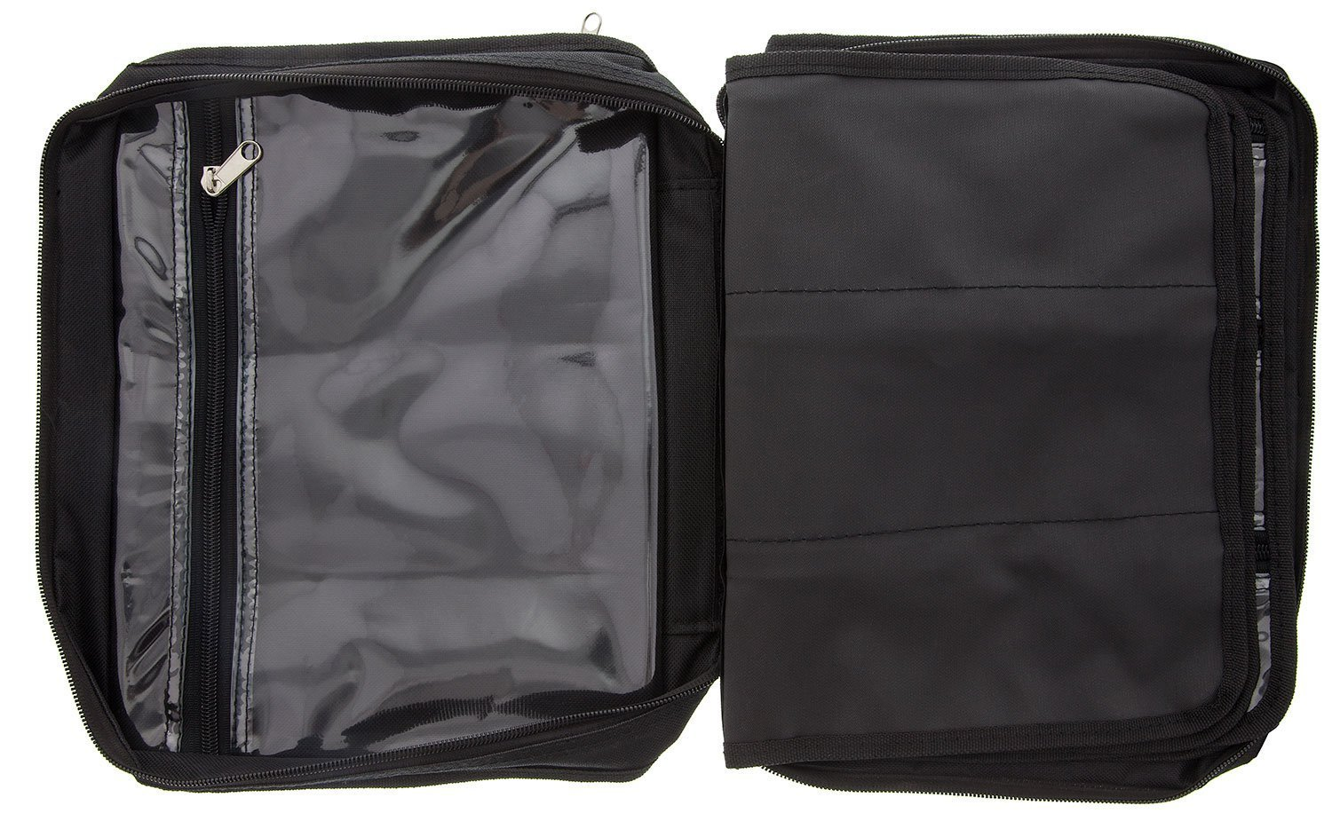 BeadSmith Black Crafter's Tote Bag, with 2 Removable Pockets and 23 Compartments 12x10 inch UK Shop c