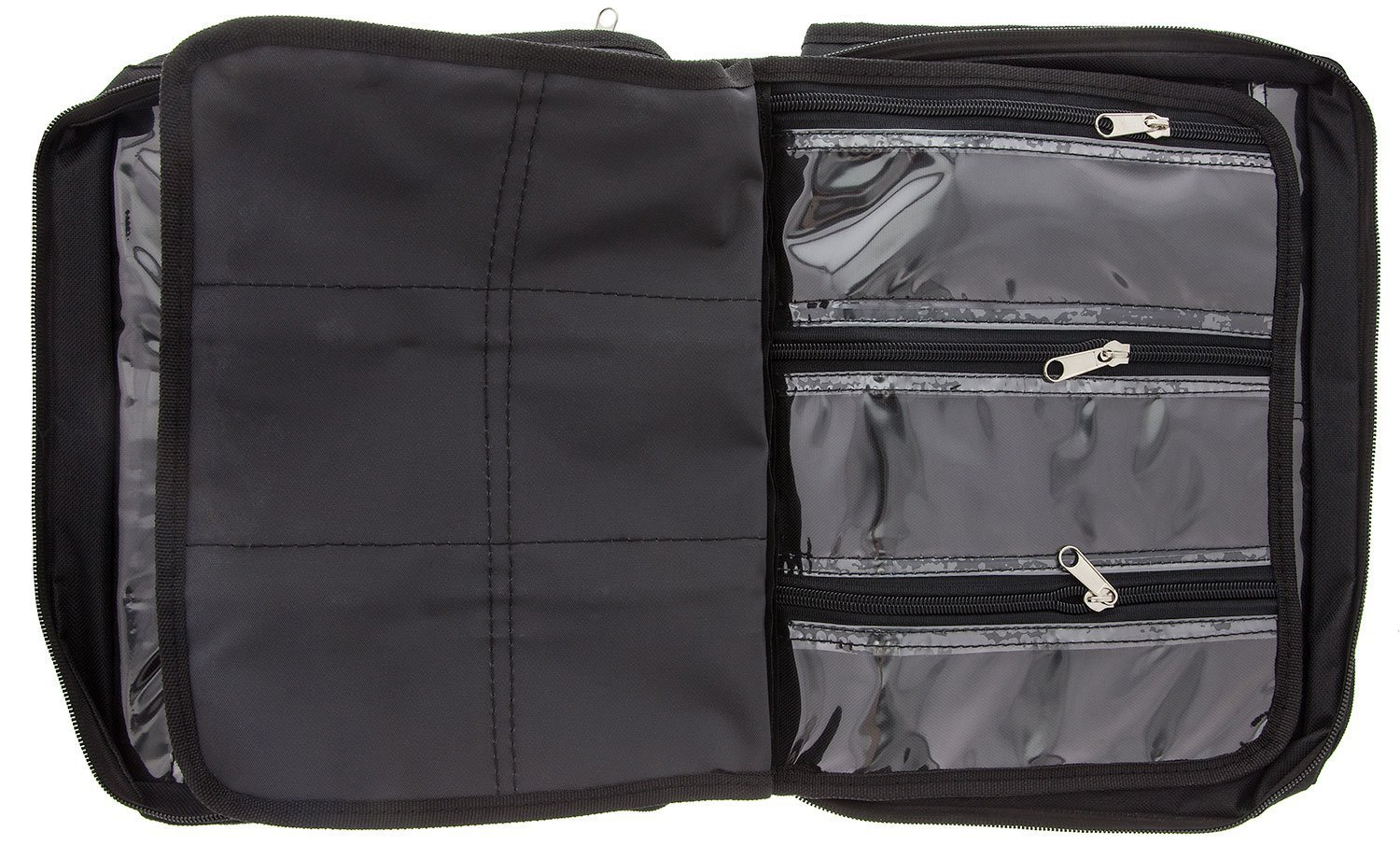 BeadSmith Black Crafter's Tote Bag, with 2 Removable Pockets and 23 Compartments 12x10 inch UK Shop f