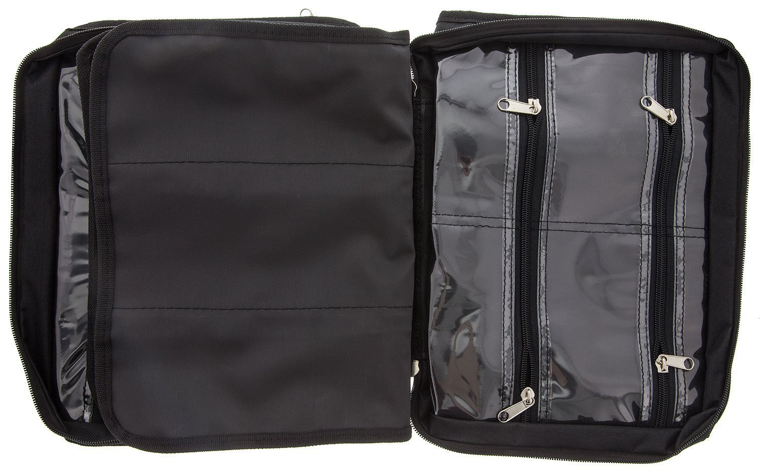 BeadSmith Black Crafter's Tote Bag, with 2 Removable Pockets and 23 Compartments 12x10 inch UK Shop g
