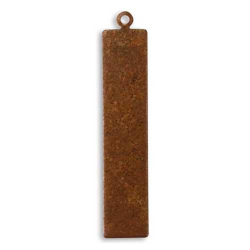 Vintaj Aristan Copper 41x8mm Rectangle Tag Blank x1