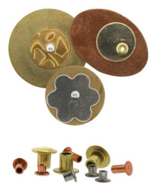 EZ-Rivet, 1/16 Rivet Tool Kit Punch & Flare Hollow Rivets blanks