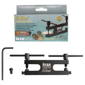 EZ-Rivet, 1/16 Rivet Tool Kit Punch & Flare Hollow Rivets