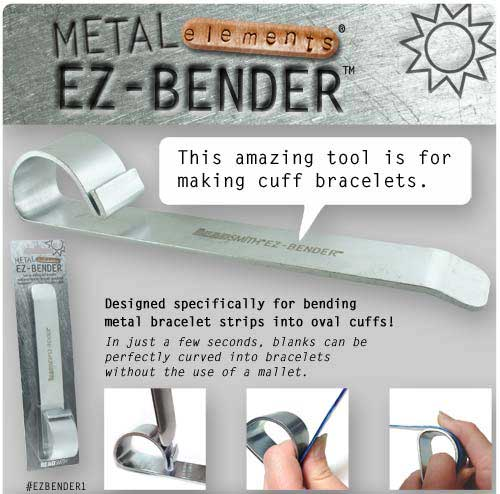 Beadsmith Bracelet Bending Bar - Metal Elements