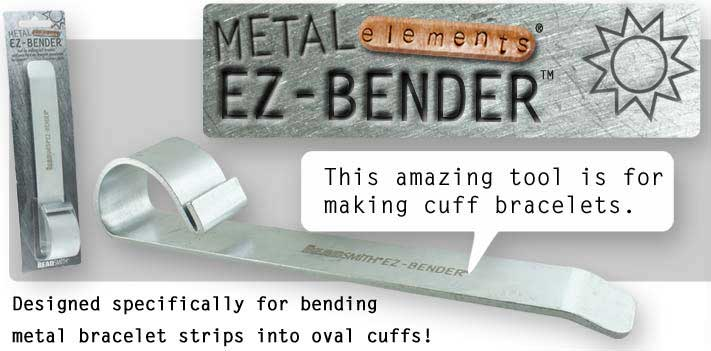 Beadsmith Bracelet Bending Bar - Metal Elements Stamping Supplies UK