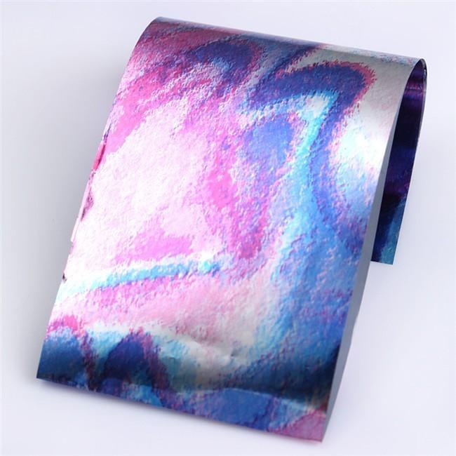 Rainbow Foil Transfer Sheets,4x160mm, x12pc. 9
