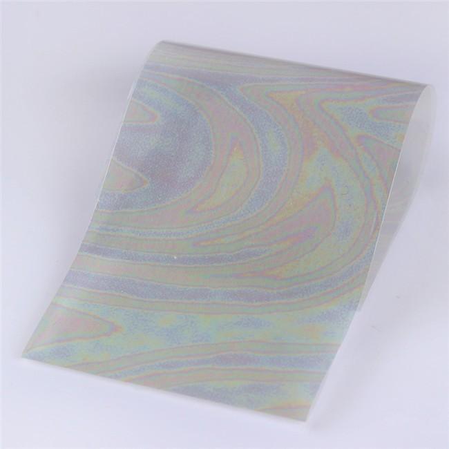 Rainbow Foil Transfer Sheets,4x160mm, x12pc. 11