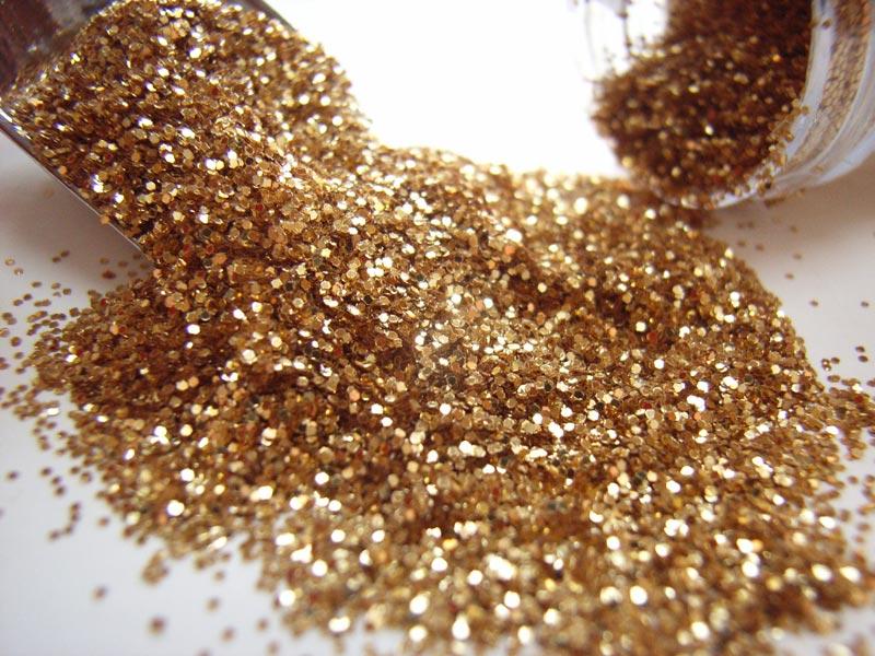Large JB Glitter Tube 18g - Gold