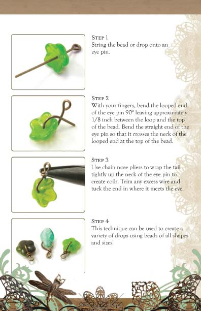 Vintaj Natural Brass - Linking Techniques Tech Sheet Page 4
