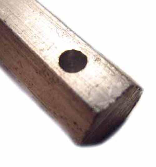 Standard Hole Aluminium Hex Bar