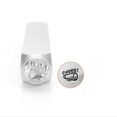 Megaphone 6mm Metal Stamping Design Punches - ImpressArt