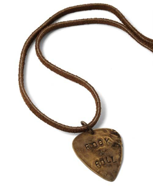 Vintaj Rock n' Roll Necklace
