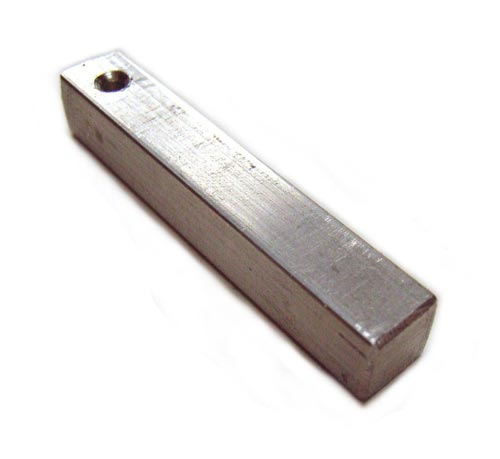 Aluminium Bar for Metal Stamping with Countersunk Holes