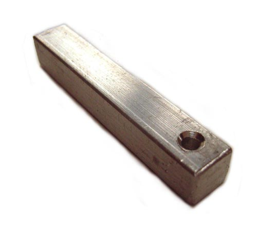 Aluminium Bar with Countersunk Holes