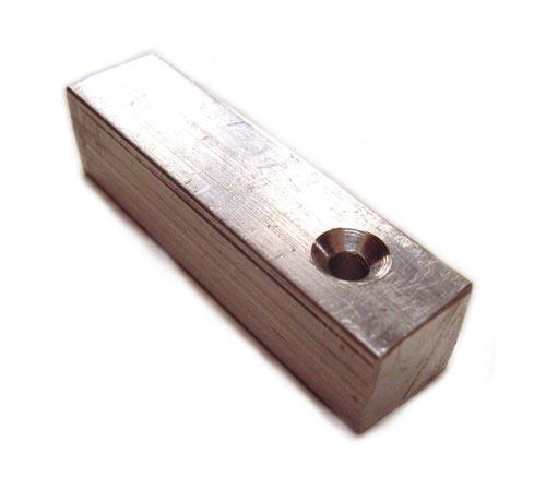 """Aluminium 3/8"""" - 9.5mm Bar with Countersunk Holes"""