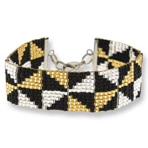 Beadsmith Loomakit Bracelet Jewellery Kit - Illusion of Diamonds 002