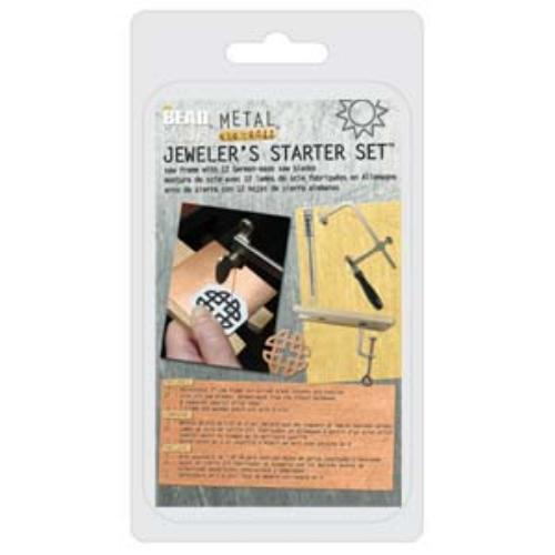 Beadsmith Piercing Saw Frame KIT, Sawframe, inc Blades & Bench Pin Vise, Jewellery Tools