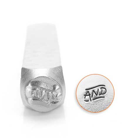 And 6mm Metal Stamping Design Punches - ImpressArt