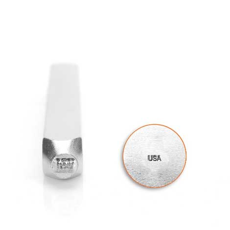 USA Marking Stamp 1.5mm Metal Stamping Design Punches - ImpressArt