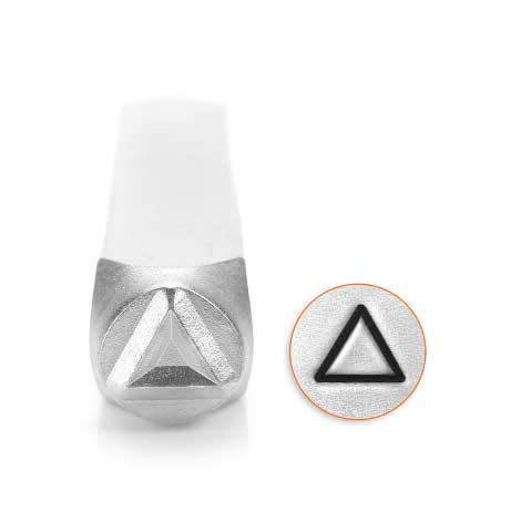 Triangle 6mm Metal Stamping Design Punches - ImpressArt