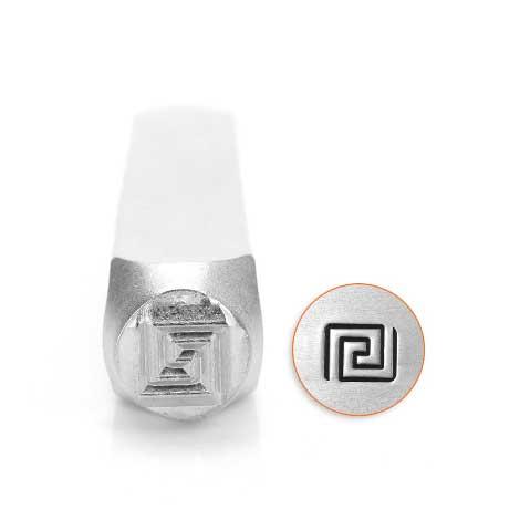 Greek Key 6mm Metal Stamping Design Punches - ImpressArt