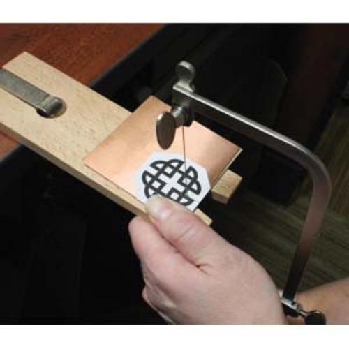 Piercing Saw Frame KIT, Sawframe, inc Blades & Bench Pin Vise, Jewellery Tools