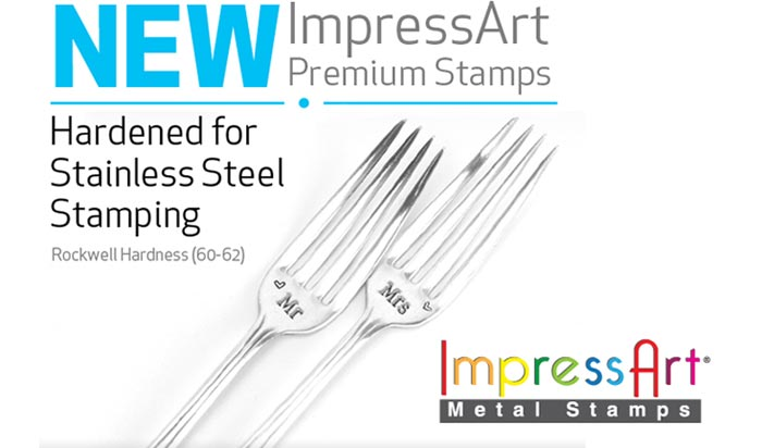 Premium Stamps for Stainless Steel by ImpressArt