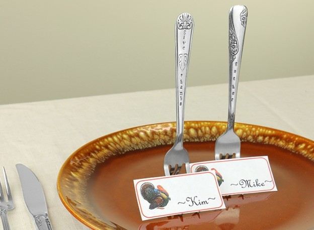 Stainless Steel Stamping Project - cutelery place setting holder uk