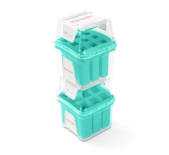 ImpressArt Storage Box Case for 4mm Number Sets - Teal 3