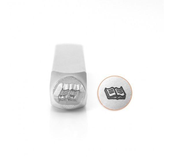 ImpressArt, Open Book 6mm Metal Stamping Design Punches UK