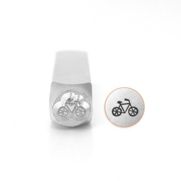 ImpressArt Bicycle 6mm Metal Stamping Design Punches UK
