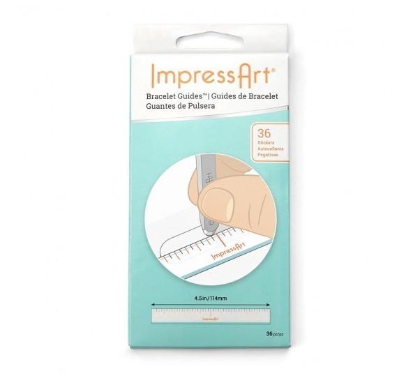 Bracelet Guides, (Book of 36 Stickers) ImpressArt UK Stamping Supplies 6