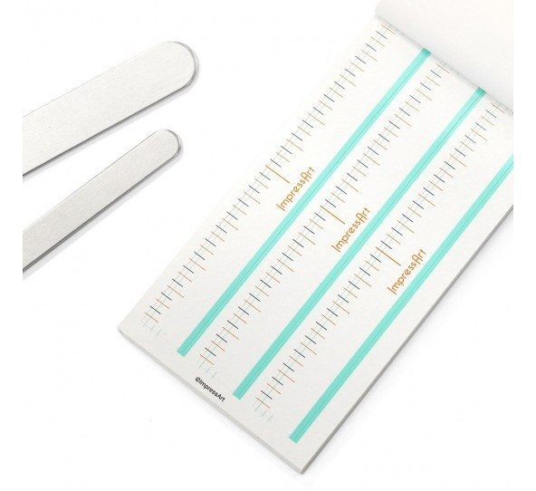 Bracelet Guides, (Book of 36 Stickers) ImpressArt UK Stamping Supplies 2