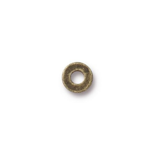 Tierracast 6.35mm Brass Micro Washer Brass Oxide x10
