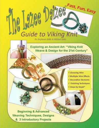 Knitting With Wire Book : The lazee daizee guide to viking knit book uk supplier