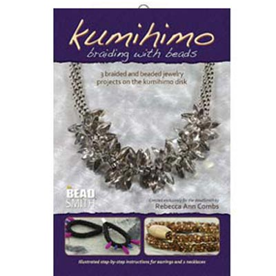 Kumihimo Braiding with Beads by Rebecca A. Combs
