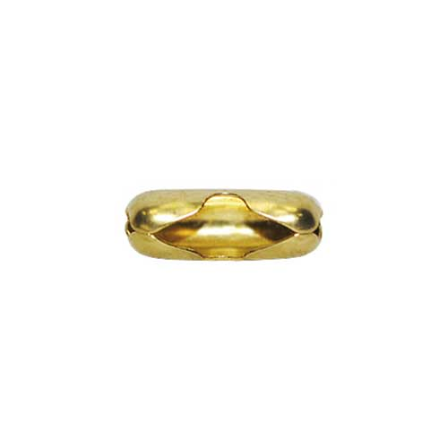 Brass Chain Connectors for 2.1mm Ball / Bead Chain x10
