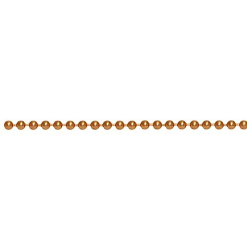 Pure 100% COPPER 2.4mm Ball / Bead Chain per ft - 30cm