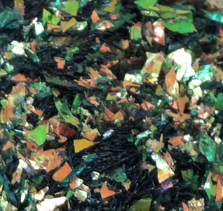 ICED Enamels® – Resin Shattered Inclusions - Fire Opal